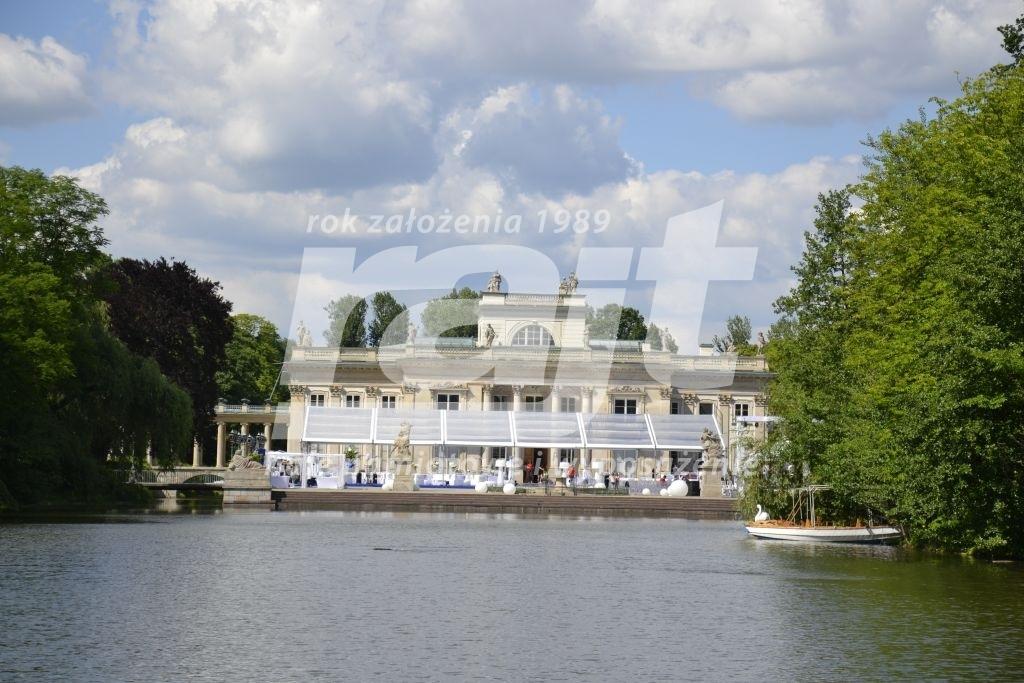 Hala Namiotowa W Pałacu Na Wyspie W łazienkach Królewskich